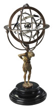 18th C. Atlas Armillary Authentic Models