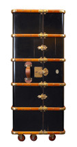 Stateroom Armoire, Black Authentic Models
