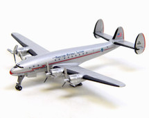 American Airlines L-049 Lockheed Constellation w/ GSE and Display Case