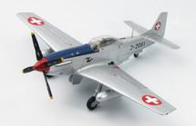 """P-51D Mustang - """"J-2061,"""" FISt 16, Swiss Air Force, Sept. 1949"""