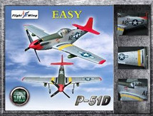 "P-51D Mustang - WWII USAF 332nd Fighter Group ""EASY"", Tuskegee Airmen Squadron"