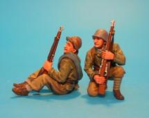 The International Brigades, Tank Riders #1 (2pcs)