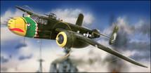 """B-25J Mitchell """"Strafer"""" Crystal Version (Model Kit)"""