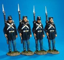 Union Marine Corps - 4 Figures Standing