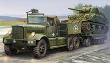 U.S. M19 Tank Transporter with Soft Top cab (Model Kit)