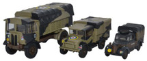 AEC Matador, Bedford MWD, and Austin Tilly British Army, Italy