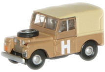 "Land Rover Series I, 88"" Canvas åäBritish Army Desert Camouflage, 1950s"