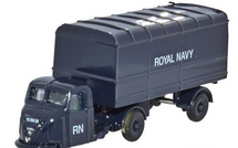 Scammell Scarab with Van Trailer Royal Navy, 1950s-1960s
