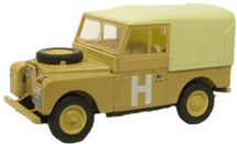 "Land Rover S1 88"" Canvas - Sand/Military"