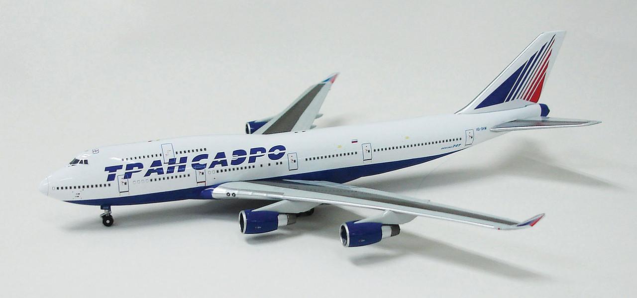 Transaero Airlines Boeing 747-4F6