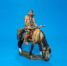 Mounted Woodland Indian (2pcs) - Limited Edition