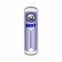 Navy Thermometer Pasttime Signs