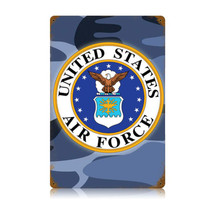Air Force Vintage Metal Sign Pasttime Signs