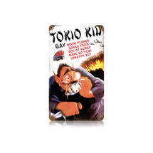 Tokio Kid Vintage Metal Sign Pasttime Signs