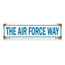 The Air Force Way Vintage Metal Sign Pasttime Signs