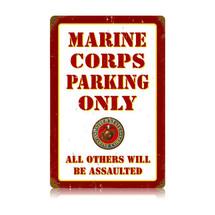Marine Parking Vintage Metal Sign Pasttime Signs