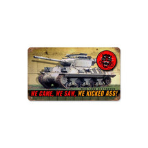 M10 Tank Vintage Metal Sign Pasttime Signs