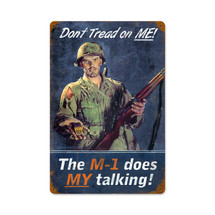 Dont Tread On Me Vintage Metal Sign Pasttime Signs