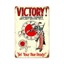 Daylight Victory Vintage Metal Sign Pasttime Signs