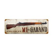 M1 Garand Vintage Metal Sign Pasttime Signs PT-V955