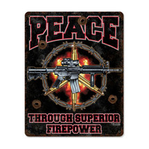 Superior Firepower Pasttime Signs