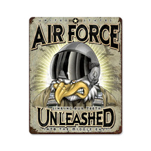 USAF Unleashed Pasttime Signs