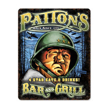 Army Patton Pasttime Signs