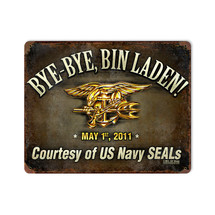 Bye Bye Bin Laden Pasttime Signs