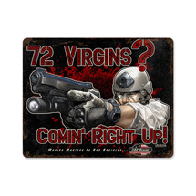 72 Virgins Pasttime Signs