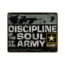 Army Discipline Pasttime Signs