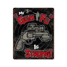 Gun Fu Pasttime Signs