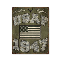 USAF Freedom Fighters Pasttime Signs