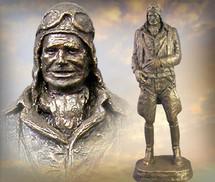 """Sculpted Figures """"Early Flying Man"""" Garman Sculptures GAR-G030"""