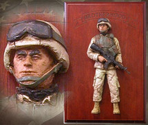 "Sculpted Figures ""American Soldier: Brotherhood Edition í Handpainted"" Garman Sculptures GAR-G580"