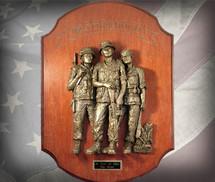 "Sculpted Figures ""Brotherhood Vietnam"" Garman Sculptures"