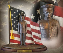 "Sculpted Figures ""Defenders of Freedom: Semper Fi "" Garman Sculptures"