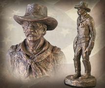 """Sculpted Figures """"In Command"""" Garman Sculptures"""