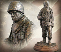 "Sculpted Figures ""Platoon Sergeant"" Garman Sculptures"