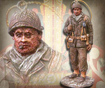 "Sculpted Figures ""Platoon Sergeant - Miniature"" Garman Sculptures"