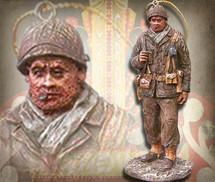 "Sculpted Figures ""Platoon Sergeant - Miniature"" Garman Sculptures"