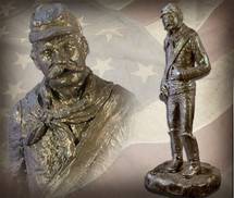 "Sculpted Figures ""Sarge"" Garman Sculptures"
