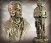 "Sculpted Figures ""Tanker"" Garman Sculptures"
