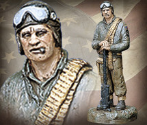 "Sculpted Figures ""Tanker - Handpainted"" Garman Sculptures"