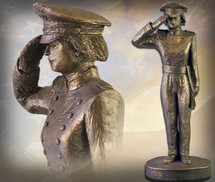 "Sculpted Figures ""USAFA Cadet Female"" Garman Sculptures"