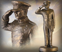 "Sculpted Figures ""USAFA Cadet Male"" Garman Sculptures"