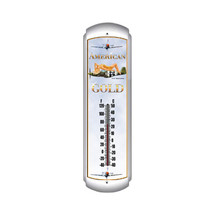 """American Gold"" Thermometer Pasttime Signs"