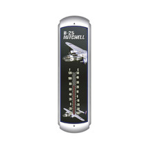 """B-25 Mitchell"" Thermometer Pasttime Signs"