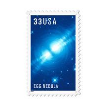 """Egg Nebula"" Custom Metal Shape Pasttime Signs"
