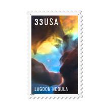 """Lagoon Nebula"" Custom Metal Shape Pasttime Signs"