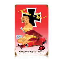"""Fokker"" Vintage Metal Sign Pasttime Signs"